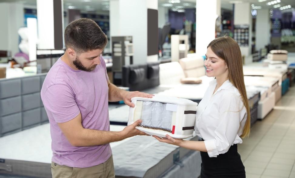 køber springmadras hos forhandler