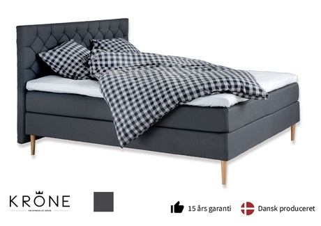 Krone Signatur Plus kontinentalseng 140x200 cm