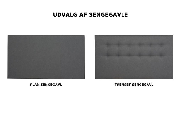 Trondheim elevationsseng sengegavle