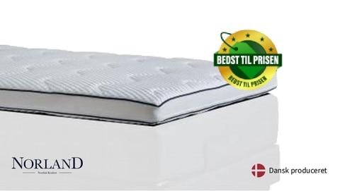 Norland Luxus latex topmadras (Bedst til prisen)